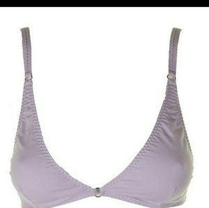 NWOT Free People triangle bralette lavender XS